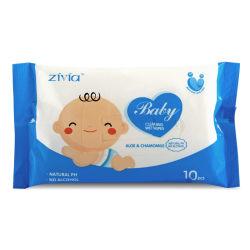 Custom amostra grátis Dental toalhetes de bebé