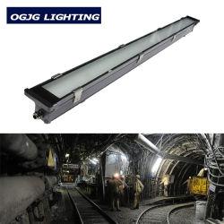 Ogjg IP67 LED خطي ومقاوم للماء 600 مم 1200 مم 40 واط مع نفق 60 واط ضوء ثلاثي مقاومة لأشعة الضوء مع بطارية الطوارئ