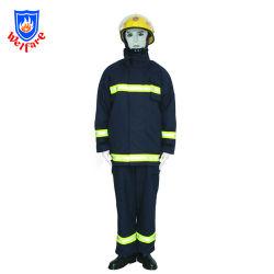 Dubbel Jasje 02 van het Kostuum van de brandweerman - Katoen