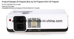 Blue Ray Imax 3D polarisées pour projecteur Home Cinéma, bureau, école, petit cinéma, de divertissement
