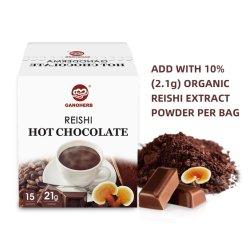 OEM Ganoderma de Hete Cacao van de Chocolade met de Melk van de Suiker