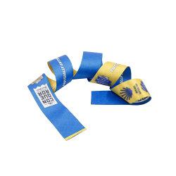 Настраиваемые моды Сублимация полиэстер шнурки с логотипом печати
