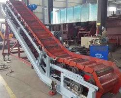Proveedor directo de fábrica del transportador rascador inclinado Industrial de la máquina
