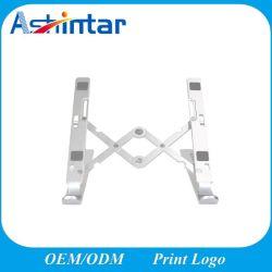 Altura ajustable ventilada vertical portátil Notebook soporte para portátil de aluminio soporte