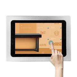 Los jugadores de la publicidad de la pantalla LCD de 10 pulgadas de la tarjeta de vídeo para publicidad
