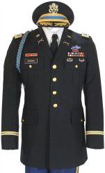 Nuove uniformi del professionista di stile di cerimonia militare dell'esercito