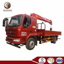 Liuqi 5 Tonne mit Kran-Straßensperre-Abbau-LKW-teleskopischer gerader Arm-Kran eingehangenem LKW