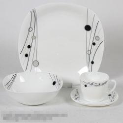 [16بكس] [هت رسستنس] [أبلور] خزفيّة [أبل غلسّ] عشاء مجموعة