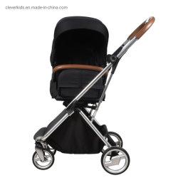 مقعد دوّار بزاوية 360 درجة، حامل عجلات الطفل القابلة للطي بواسطة عربة ذات عجلات خفيفة عالية الجودة من الألومنيوم خفيف الوزن، حامل عجلات الطفل ثلاثي في 1