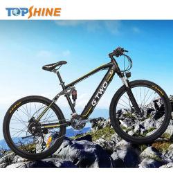500W 48V Mountain bicicleta eléctrica com sistema de localização GPS e aluguer de conta-quilómetros