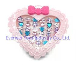 플라스틱 장난감 어린이 선물 보석 다이아몬드 반지