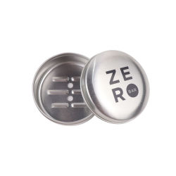 Siebdruck Einfarbig Silber Aluminium Glas Zinn