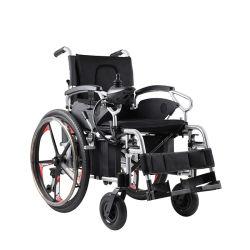 Alumínio eléctrica Eléctrico Dobrável cadeira de rodas para mobilidade
