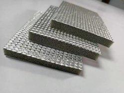 Lámina de aluminio ignífugo ignífugo Rubber-Plastic Cuadrícula algodón AISLAMIENTO aislamiento Aluminio Rejilla de la junta de la Junta de aislamiento de lámina de aluminio