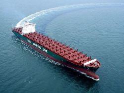Overzeese Vracht. De Vracht van de lucht. Het verschepen van China aan Montevideo. Uruguay
