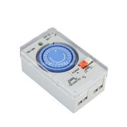 패널 장착 미니 15분 설정 24시간 프로그래밍 가능 일일 100V-240V AC 기계식 타이머