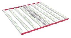 2020 de buena calidad de amplio espectro resistente al agua del sistema de refrigeración pasiva de la horticultura hidropónica Aeroponic Granja Vertical 1000W LED lámpara de 8 barras luz crecer