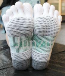 Nessun pistoni cinque calzini di yoga di qualità dei calzini della punta delle barrette i migliori