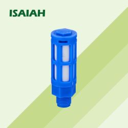 PSU-G pneumatique pneumatique bleu silencieux silencieux de l'air en plastique