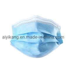 3つの層非編まれた保護使い捨て可能な塵の表面方法マスク