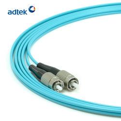Cavo patch SC/APC-SC/APC Duplex 9/125 a fibra ottica a modalità singola da 5 m. Ponticello