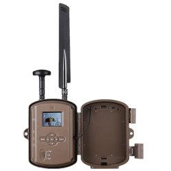 Solar profesional de la caza de fauna silvestre de la Cámara de rastros de la seguridad del hogar SMS inalámbrico remoto GSM GPRS MMS de vídeo digital resistente al agua de la cámara térmica de infrarrojos