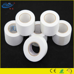 0,10 mm PVC-tape, witte kleur, niet-adhsief