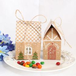 [مرّي كريستمس بوإكس] [بروون] كعك سكّر نبات شوكولاطة صندوق
