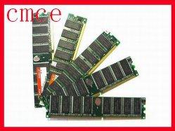 DDR RAM (mémoire vive DDR2 128 Mo/256 Mo / 512 Mo).