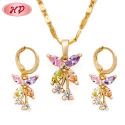 De imitatie Reeks van de Juwelen van het Kristal van CZ van de Juwelen van de Manier