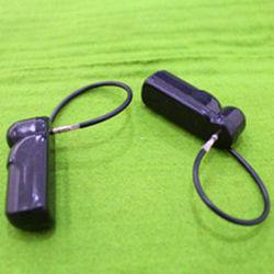 Balise de crayon avec cordon, Mini-Déposer Tag alarmant, Noir (étiquette EAS d'AJ-AH-008-B)