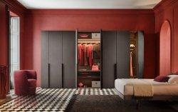 أحمر [سليد دوور] خزانة ثوب لاءم مقصورة غرفة نوم