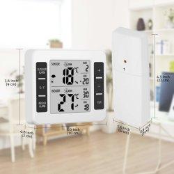 Piscina interior sem Termómetro Digital, Indicador do Monitor de temperatura com alarme sonoro para a Home congelador