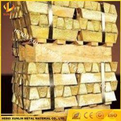 Lingots de cuivre les lingots de cuivre pur à 99,999 % de phosphore de lingots de cuivre