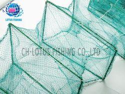 Vente chaude casier à homard exporté en plastique de gros châssis en acier inoxydable Casier à crabes Net