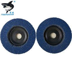 Premium окиси циркония диск заслонки шлифовального круга 4,5'' с зернистостью 80