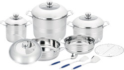 汽船および炊事用具によってセットされる13PCS調理器具