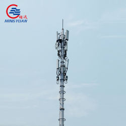 De gegalvaniseerde Toren van de Telefoon van de Cel van de Telecommunicatie van de Pijp van de Buis van het Staal Enige Monopole