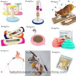 Der China-Haustier-Zubehörcatmint-Puder-Beutel, der Katze-Haar-Katzenminze-appetitanregende Aufregung entfernt, kann Katze-Imbiss-Spielwaren füllen