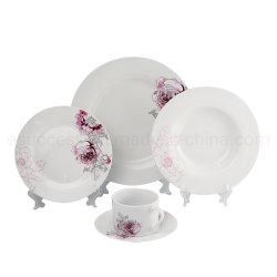 Оптовая торговля новый дизайн фарфора пластических масс керамики Китая на заводе Популярные дизайн посуда производство