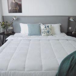 贅沢なホームホテルのポリエステルが付いている親水性の綿の包装は慰める人をキルトにする