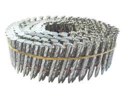 Clavos Helicoidales Fabricante de 2 1/4''x. 099'' de la bobina de pallet de alambre clavos