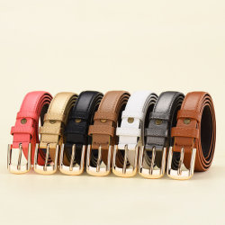 Fashion Design Your Own Logo Customized Men Pu Leather Printing Belts