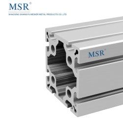 L'OB100A L'extrusion de l'industrie lourde industrielle Profil en aluminium pour porte/fenêtre clôture/Connexion