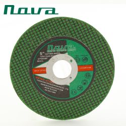 Металлический шлифовальный круг из нержавеющей стали шлифовальный диск отключения абразивного отрезного диска