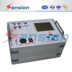 Cuadro eléctrico de alta tensión CB Disyuntor Analizador de equipos de comprobación