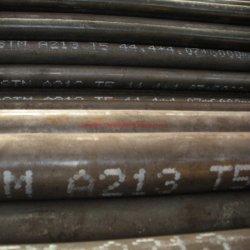 ASTM A213 ASME SA213 T5 T9 T11 T12 T22 T23 T91 الباردة المدلفن أنبوب الغلاية الفولاذية الملحومة، الذي تم طعيمه وتطافيه