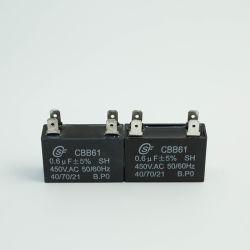Kondensator des Ventilator-Cbb61 mit Plastikfall