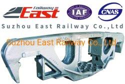 Chemin de fer Sideframe de moulage de bogie pour wagon de fret des composants de rechange