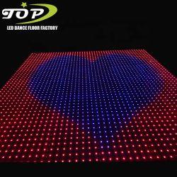熱い販売の新製品のデジタルRGB LEDダンス・フロアの照明レンタル装飾的な段階